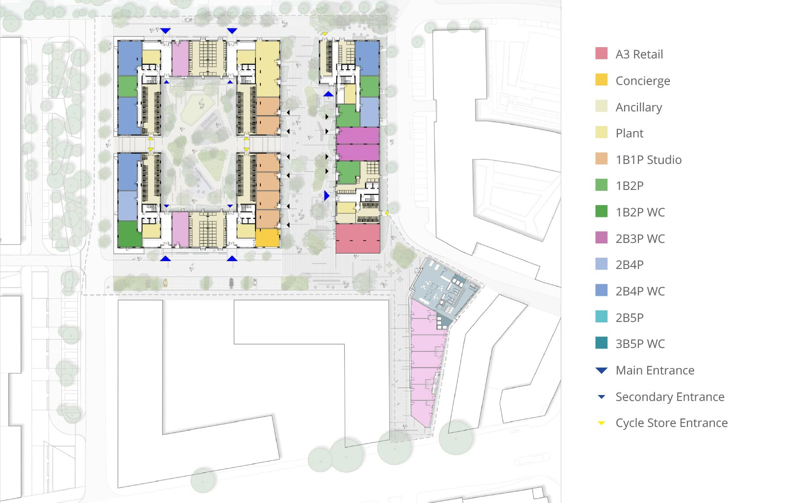 Equipment Works, Walthamstow, London, Floor Plan