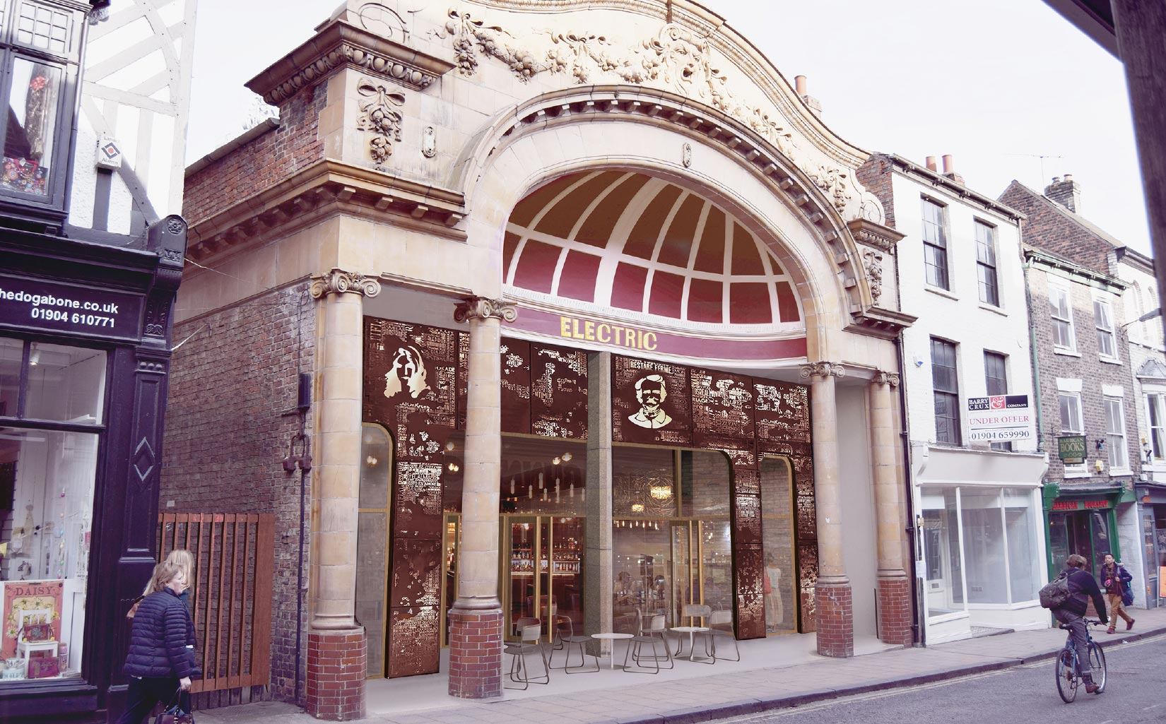 Scala Yard and The Electric Cinema, York, Proposed Entrance