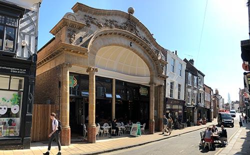 Scala Yard and The Electric Cinema, York, refurbished bar