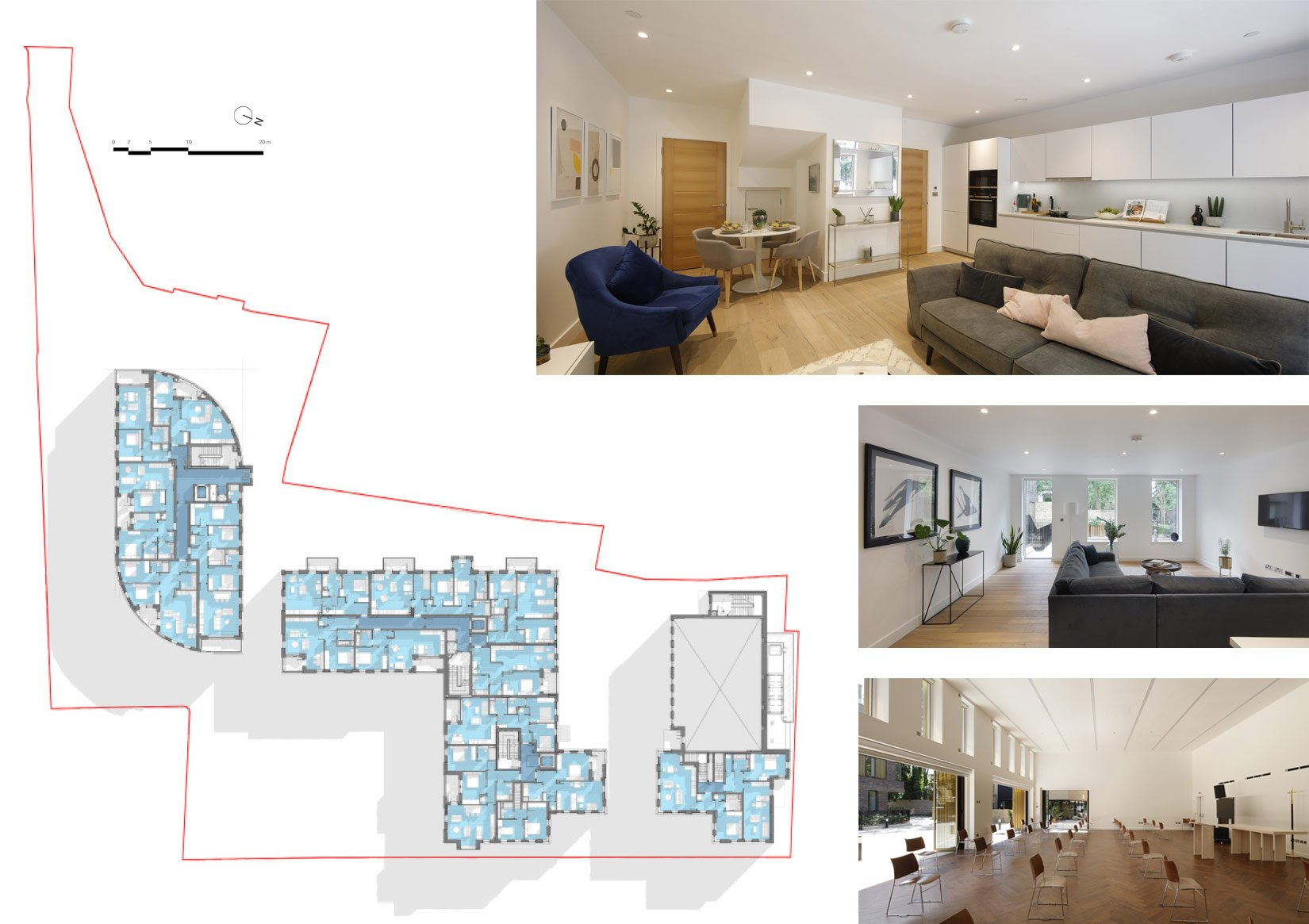 Hackney Gardens, Floor Plan and Interiors