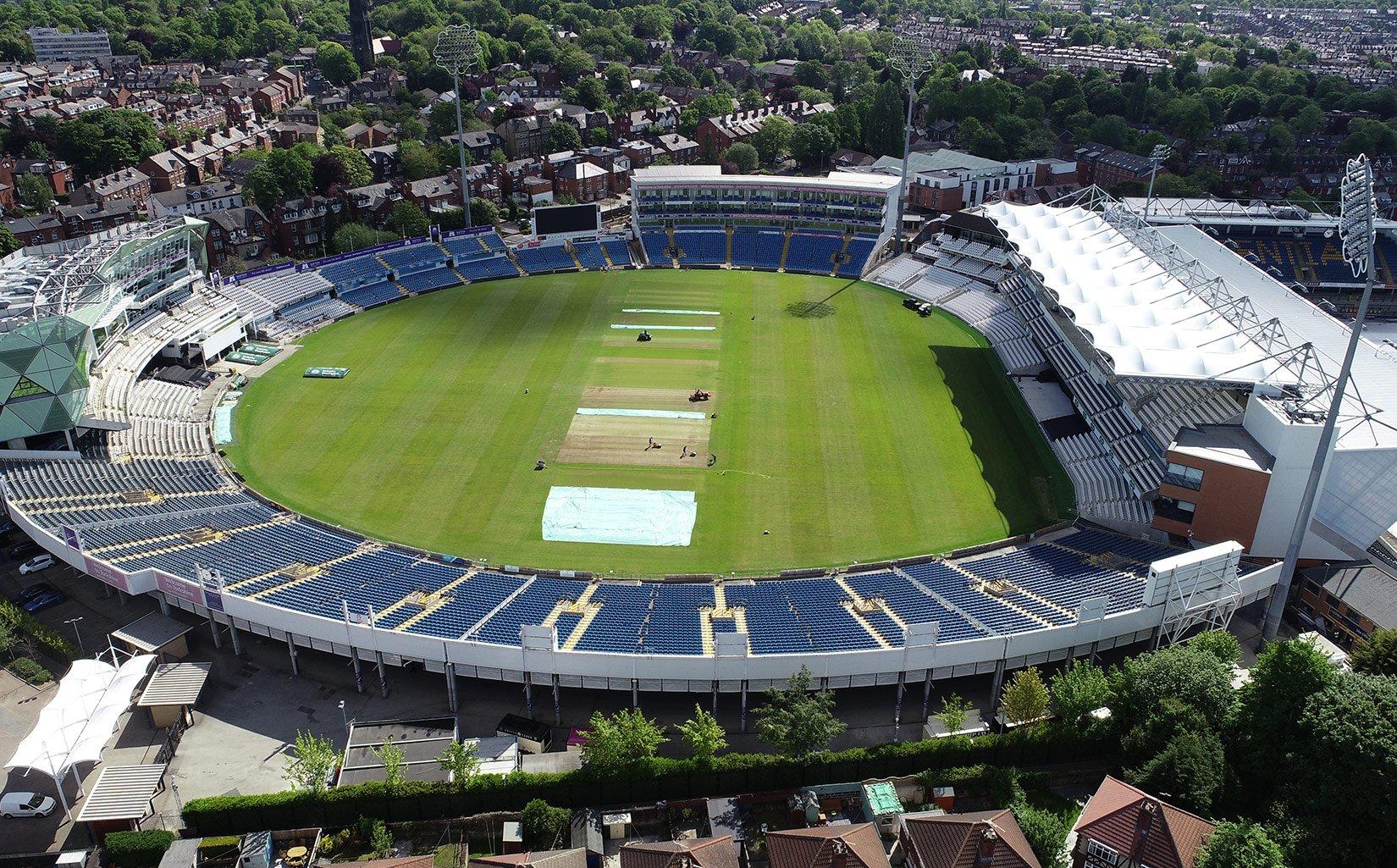 Emerald Headingley Stadium, Aerial