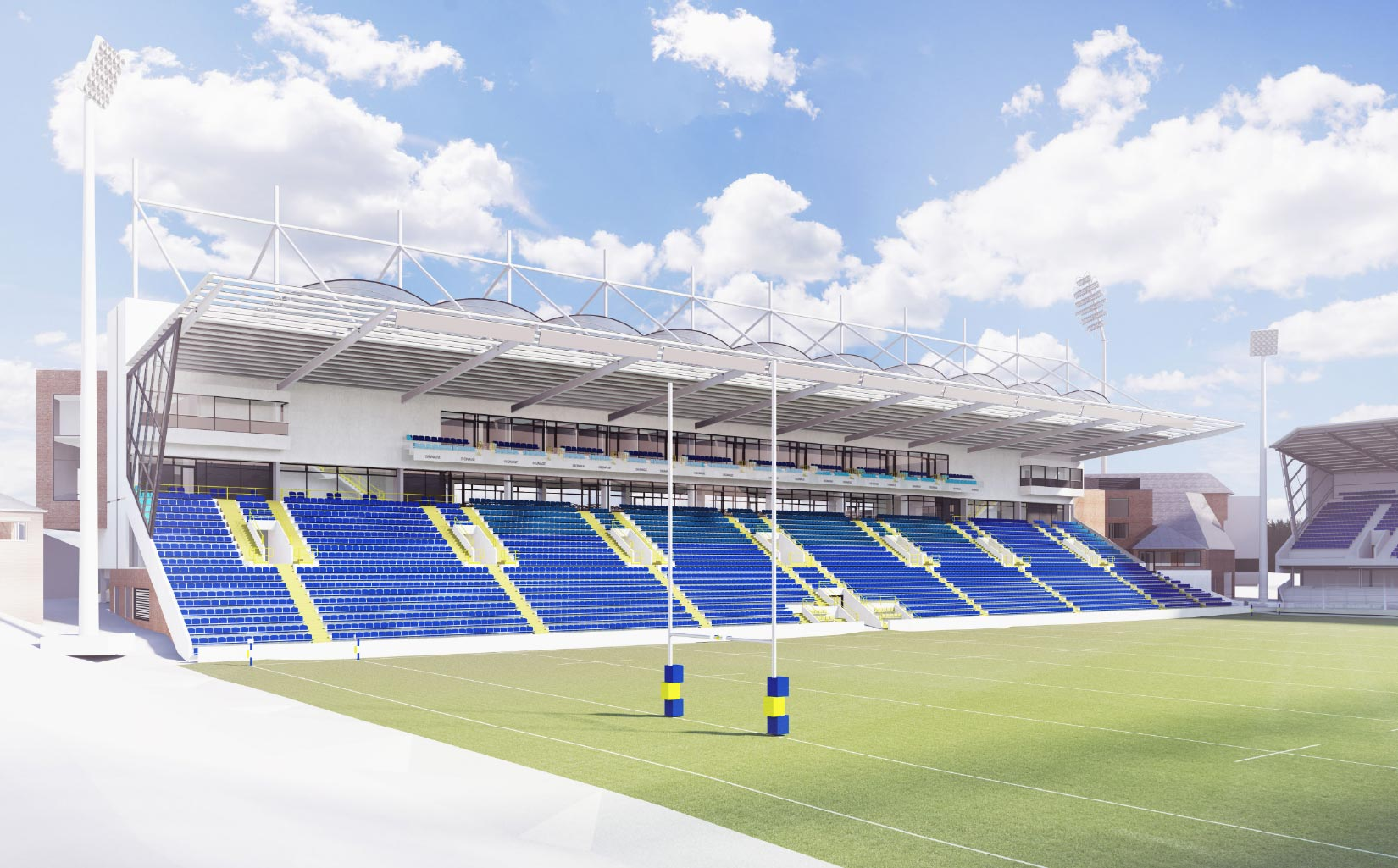 Headingley 3D Visual of North / South Stand Rugby