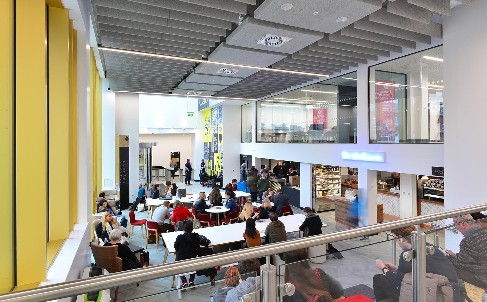 Leeds Arts University, Café and Breakout Space
