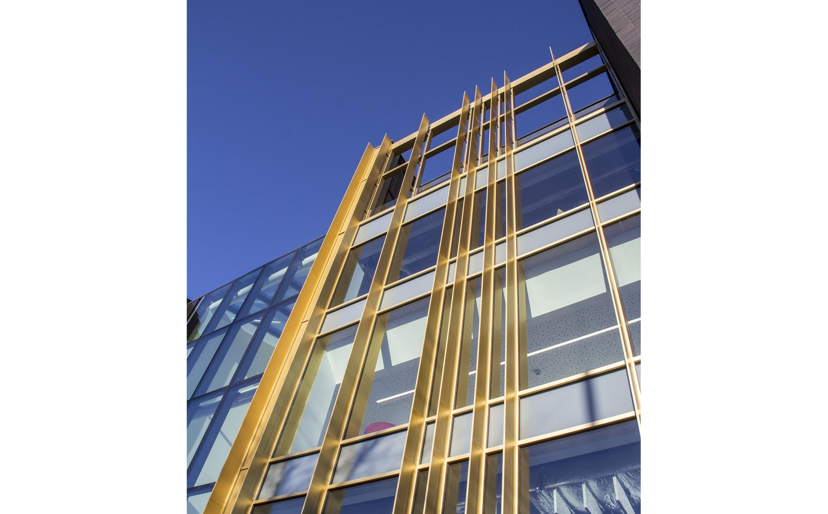 Leeds Arts University, Façade Detail