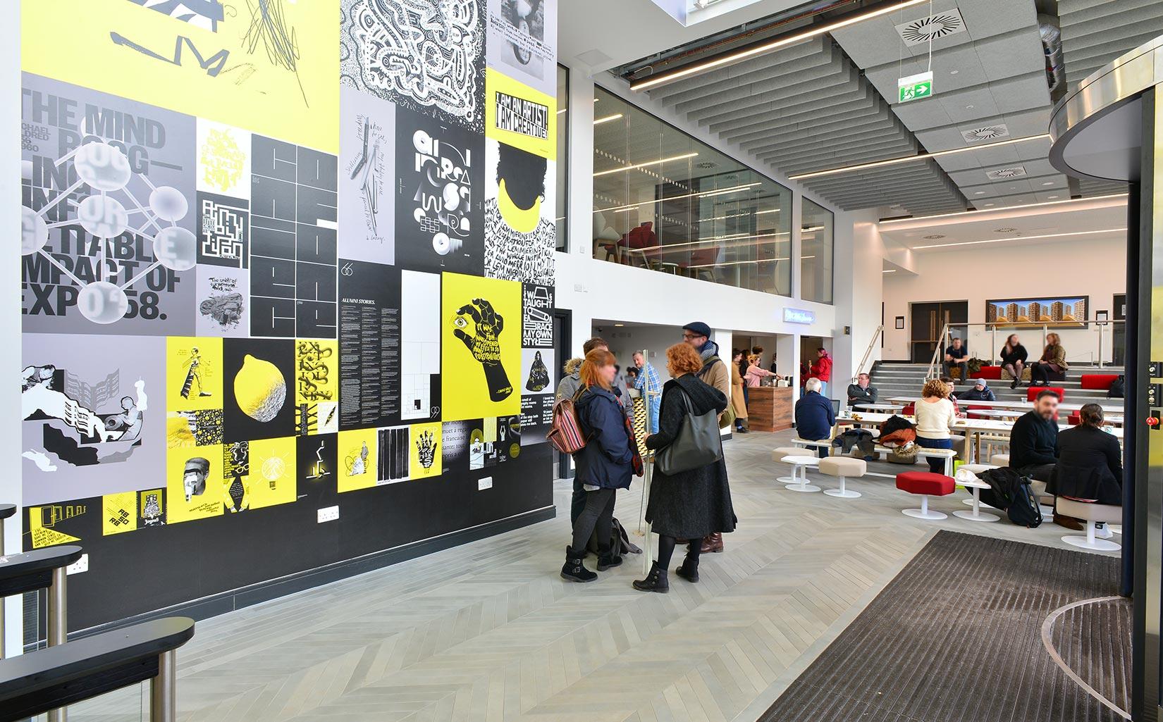 Leeds Arts University, Reception