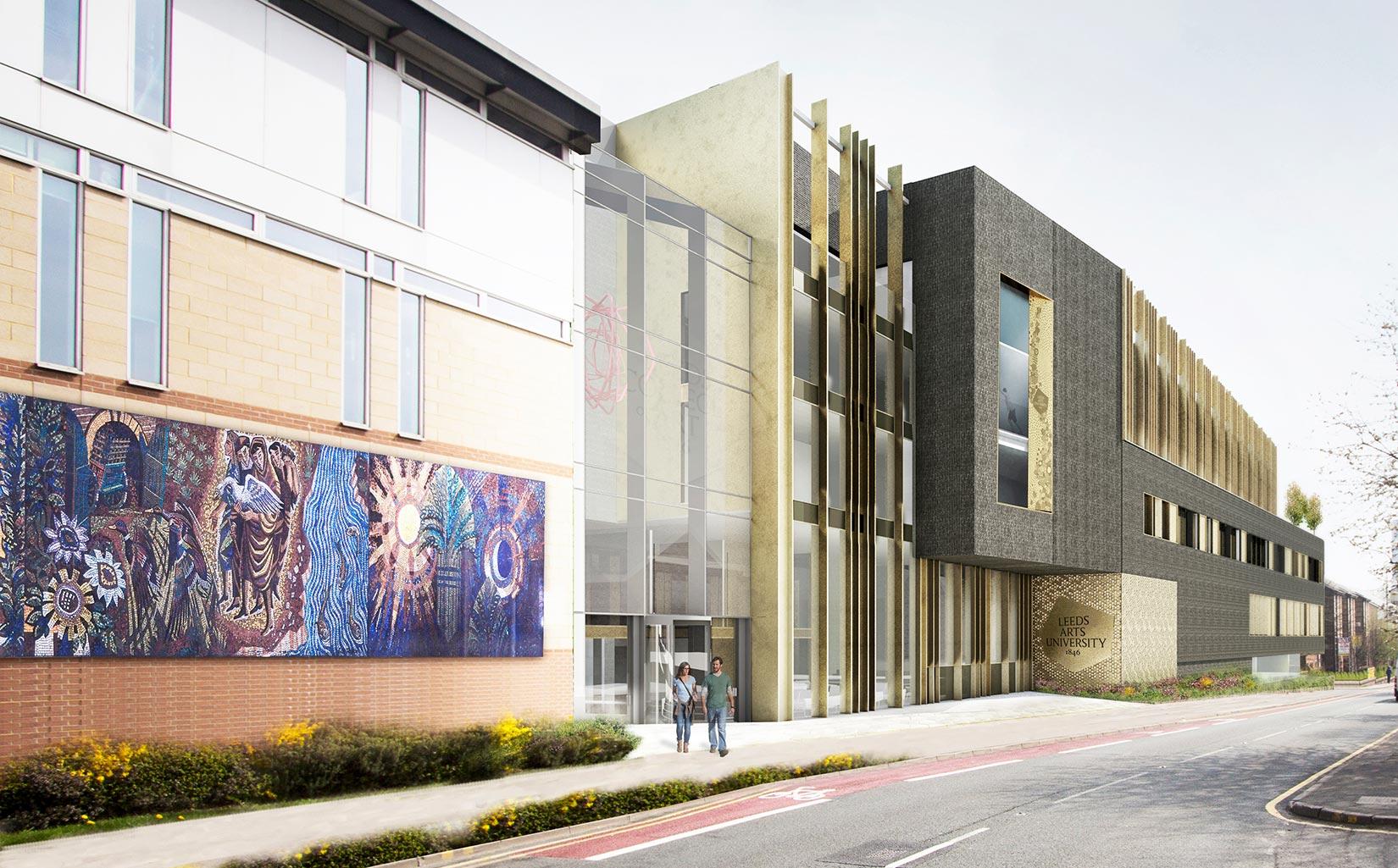 Leeds Arts University, 3D visual
