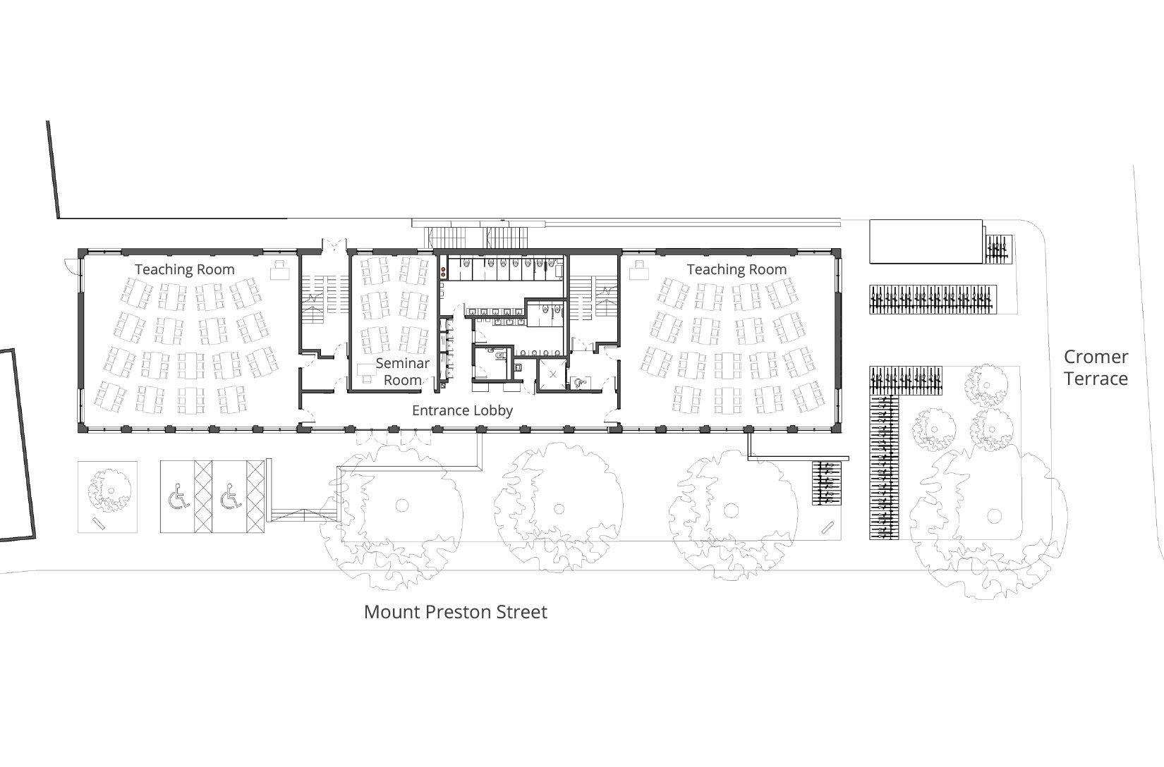 Newlyn Building, University of Leeds, Floor Plan