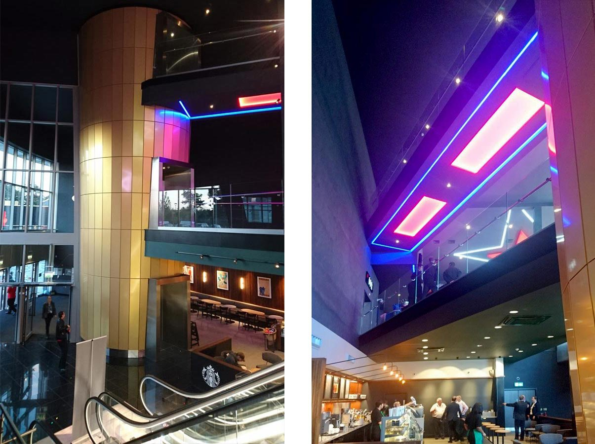South Ruislip, London, Cineworld Interiors
