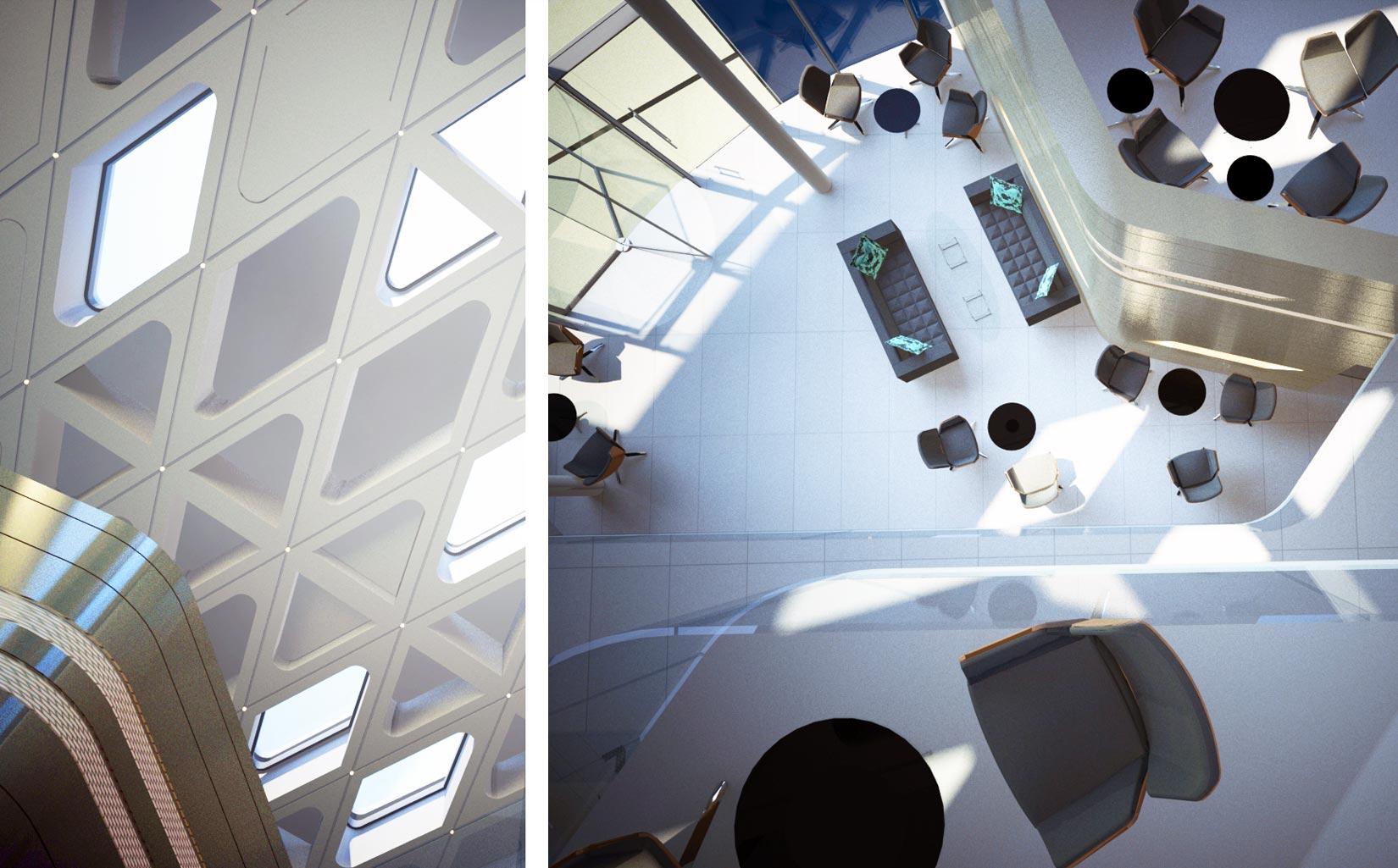 B. Braun Innovation, Communication & Education Centre, Sheffield, 3D Detail Visuals
