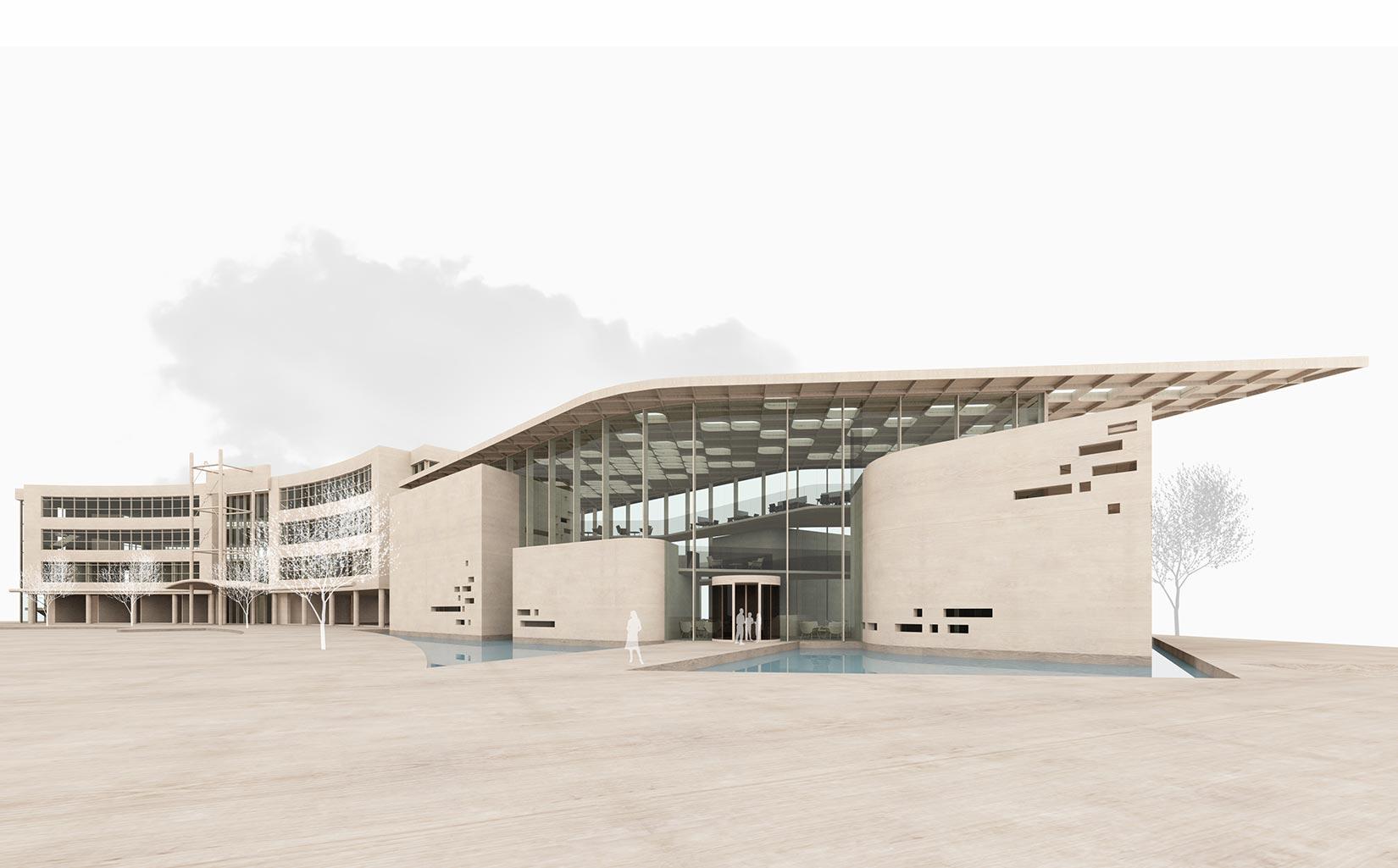 B. Braun Innovation, Communication & Education Centre, Sheffield, Concept Model Approach