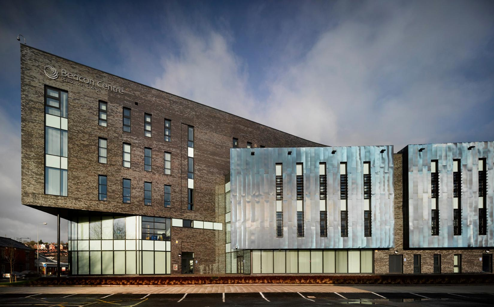 Beacon Centre, Blackburn College, Elevation