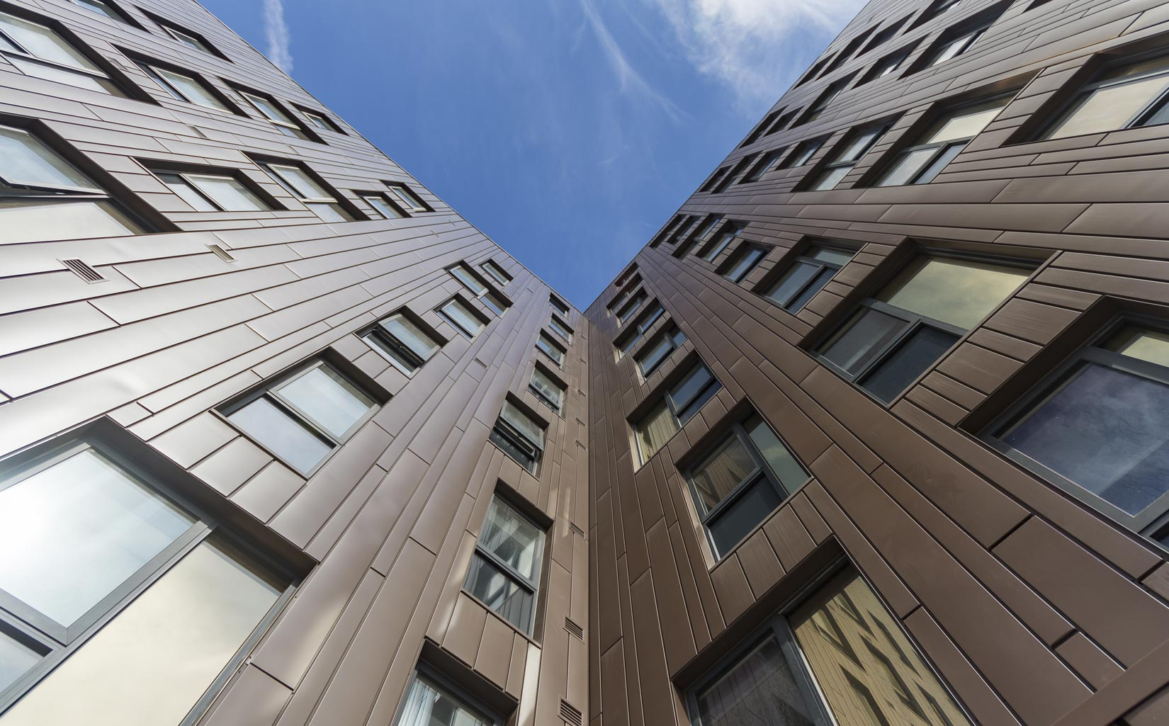The Foundry , Cavendish Street, Leeds, Cladding Detail