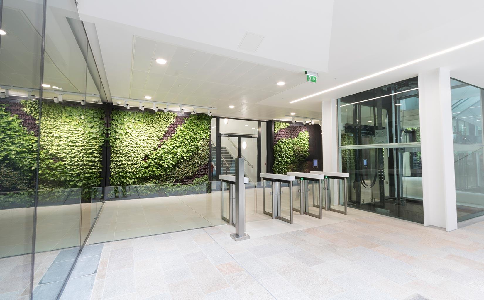 Central Square, Leeds, Office Entrance