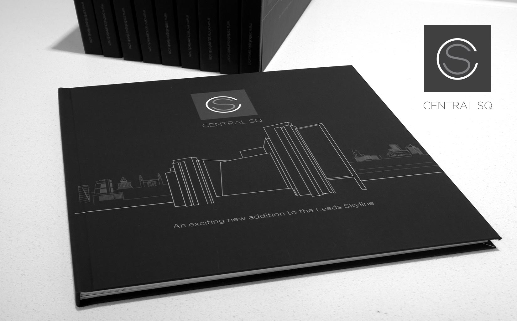 Central Square, Leeds, Branding & Graphic Design