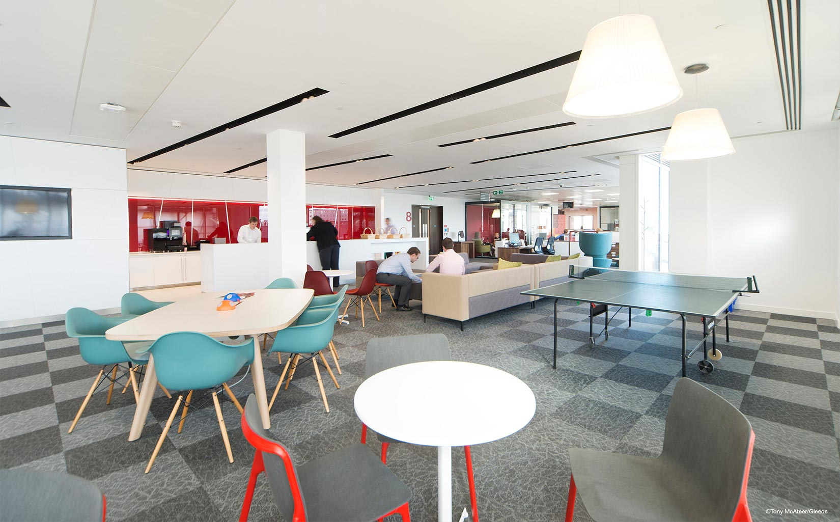 Central Square, Leeds, Interior Fit Out - Photograph © Tony McAteer