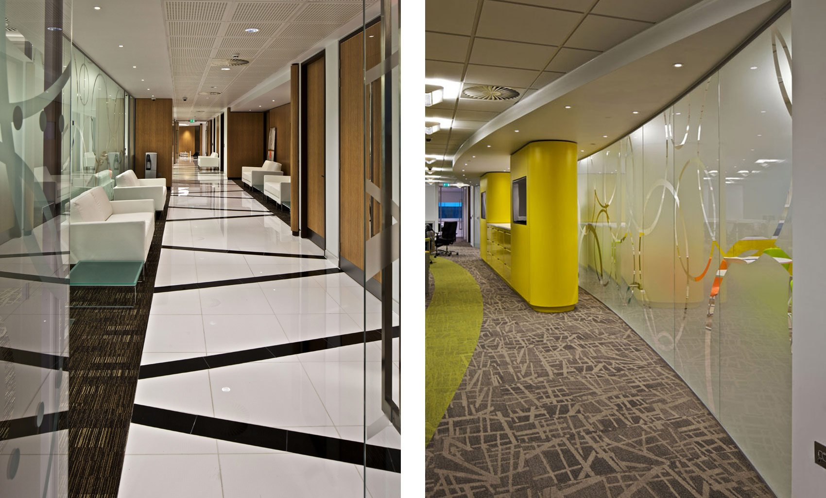 Etihad Airways Contact Centre, Manchester, Interior Design