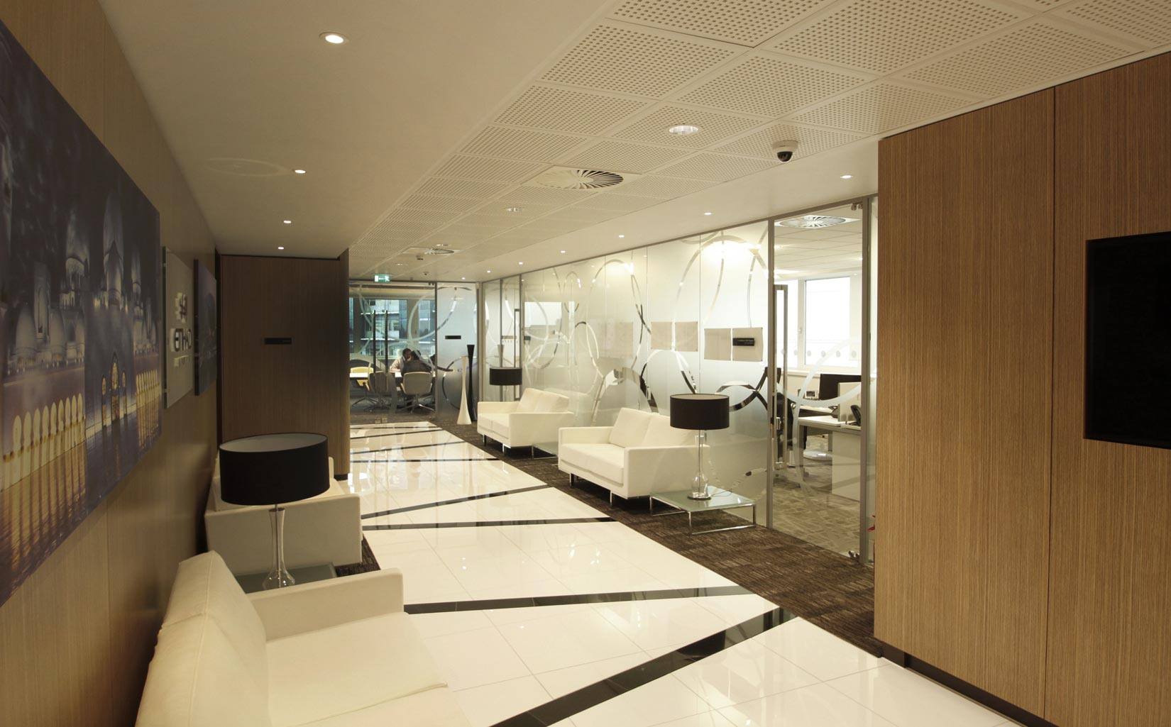 Etihad Airways Contact Centre, Manchester, Corridor