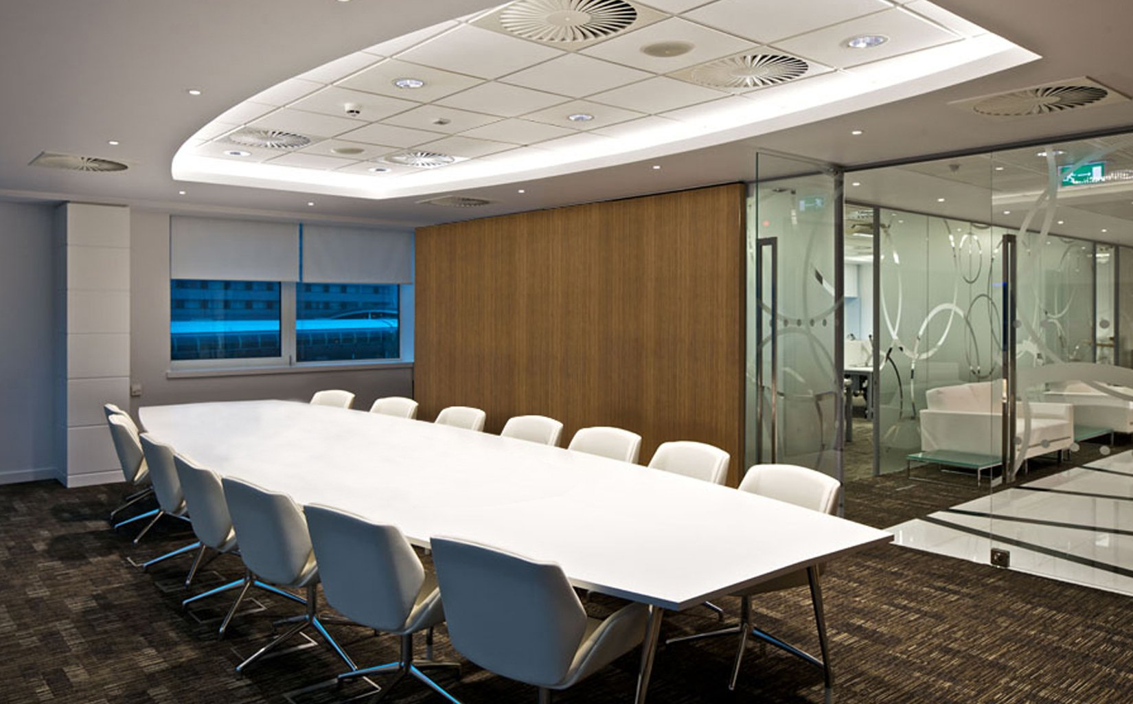Etihad Airways Contact Centre, Manchester, Meeting Room