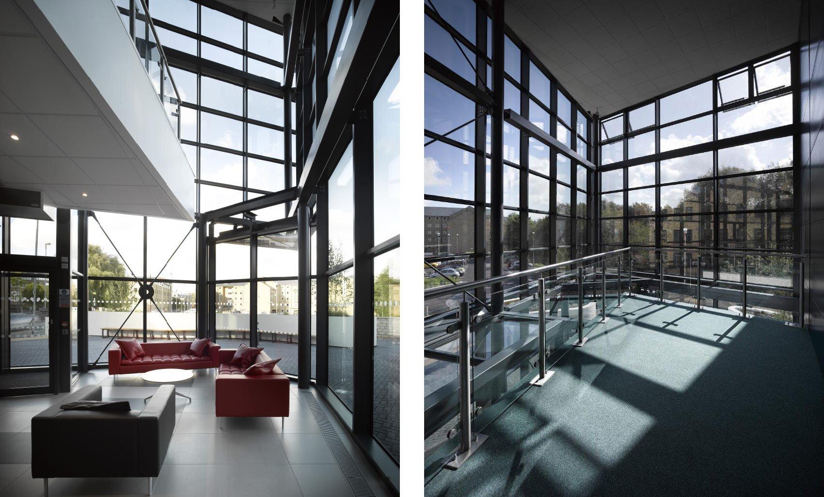 Larchfield Mills, Huddersfield University, Interiors