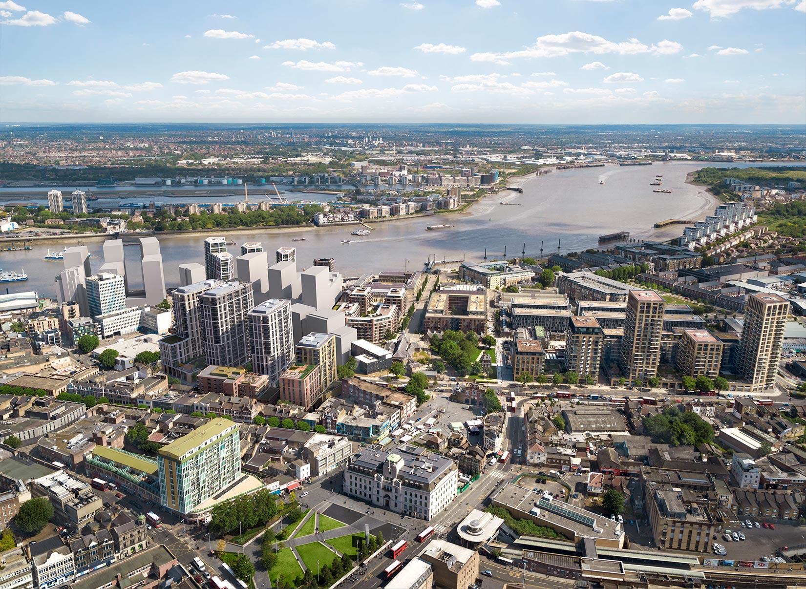 MacBean Street, Woolwich, London : 3D Aerial