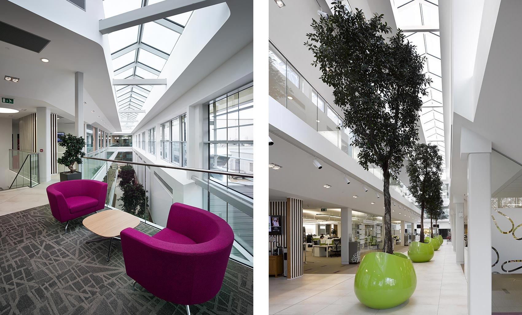 Nestlé Product Technology Centre, Walkways