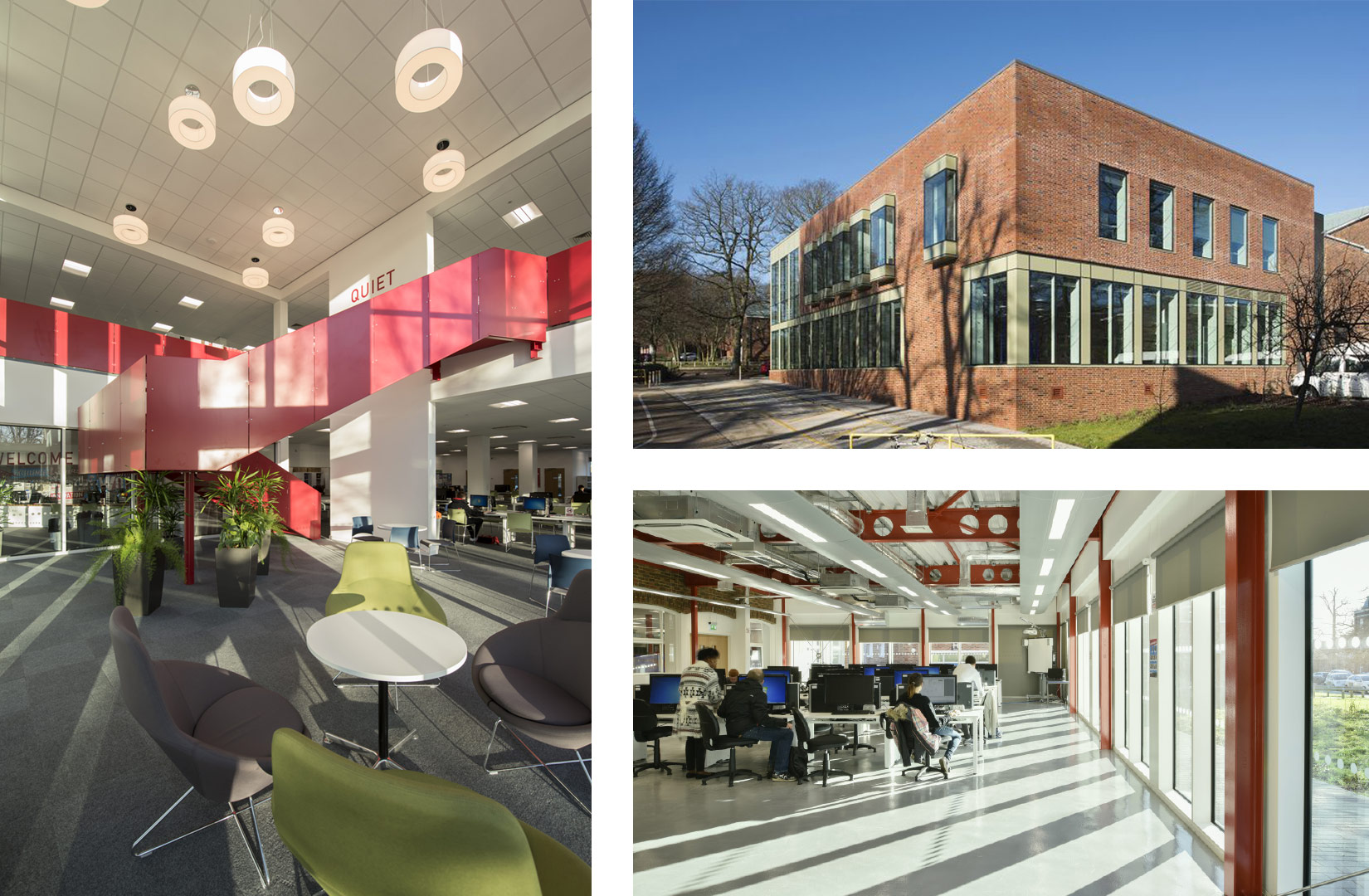 Oaklands College, Welwyn Garden City, Learning Resource Centre and Exterior