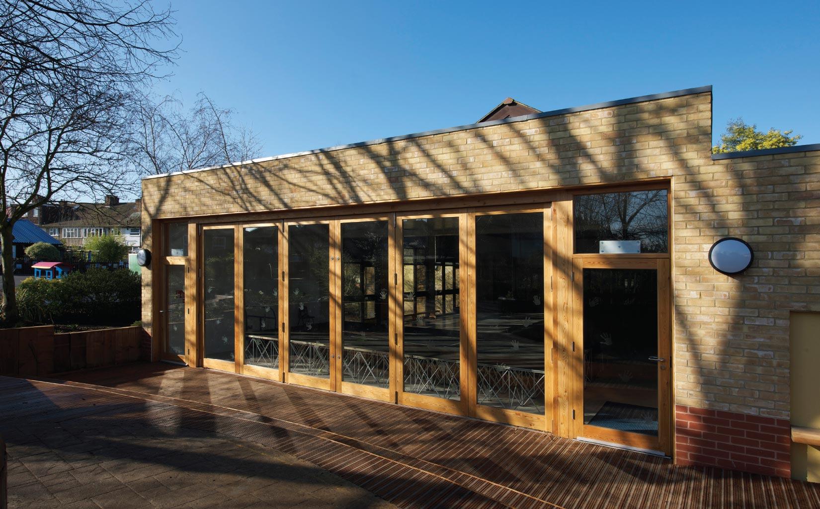 Orleans School, Twickenham, London, Classroom Entrance