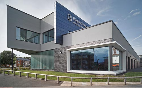 Motor Vehicle Building, Blackburn College,