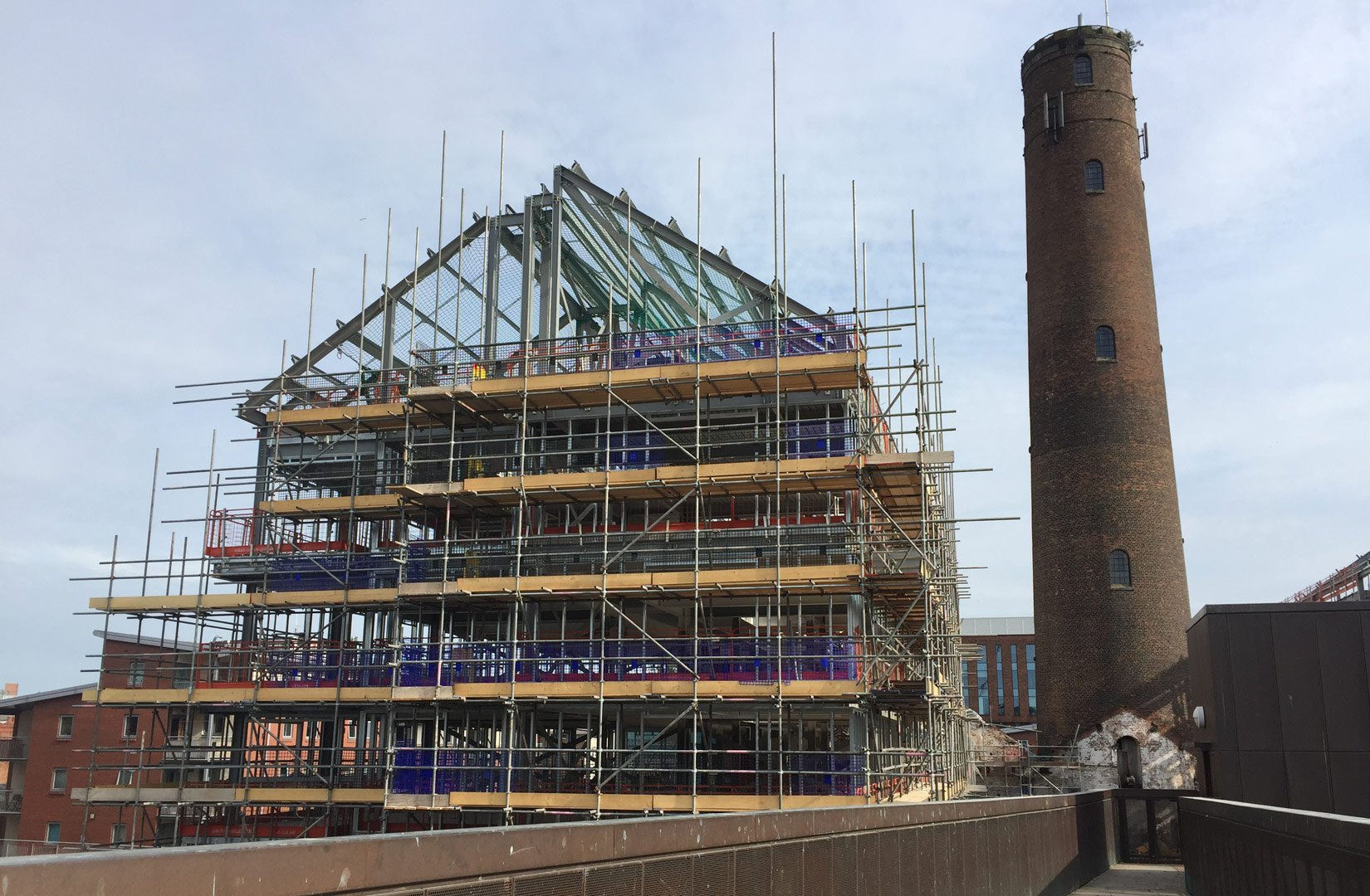 Shot Tower, Chester, Onsite