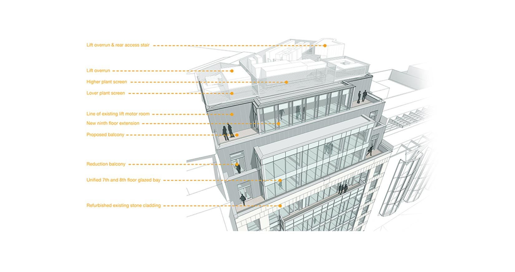 20 Saint Andrews House, Holburn, London, BIM Diagram