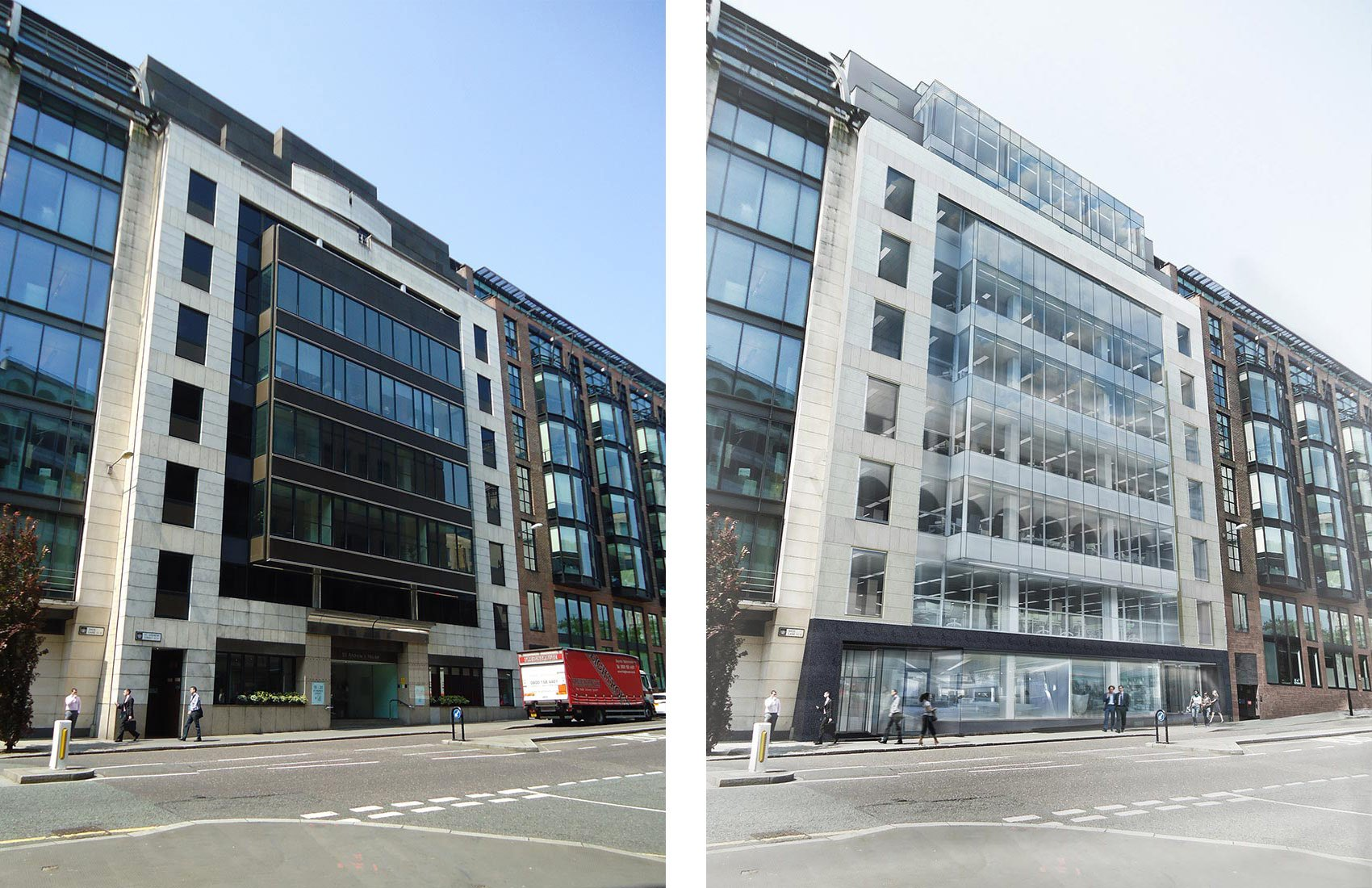 20 St Andrew's House, Before & After