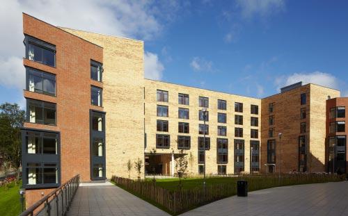 Storm Jameson Court, University of Leeds, Courtyard