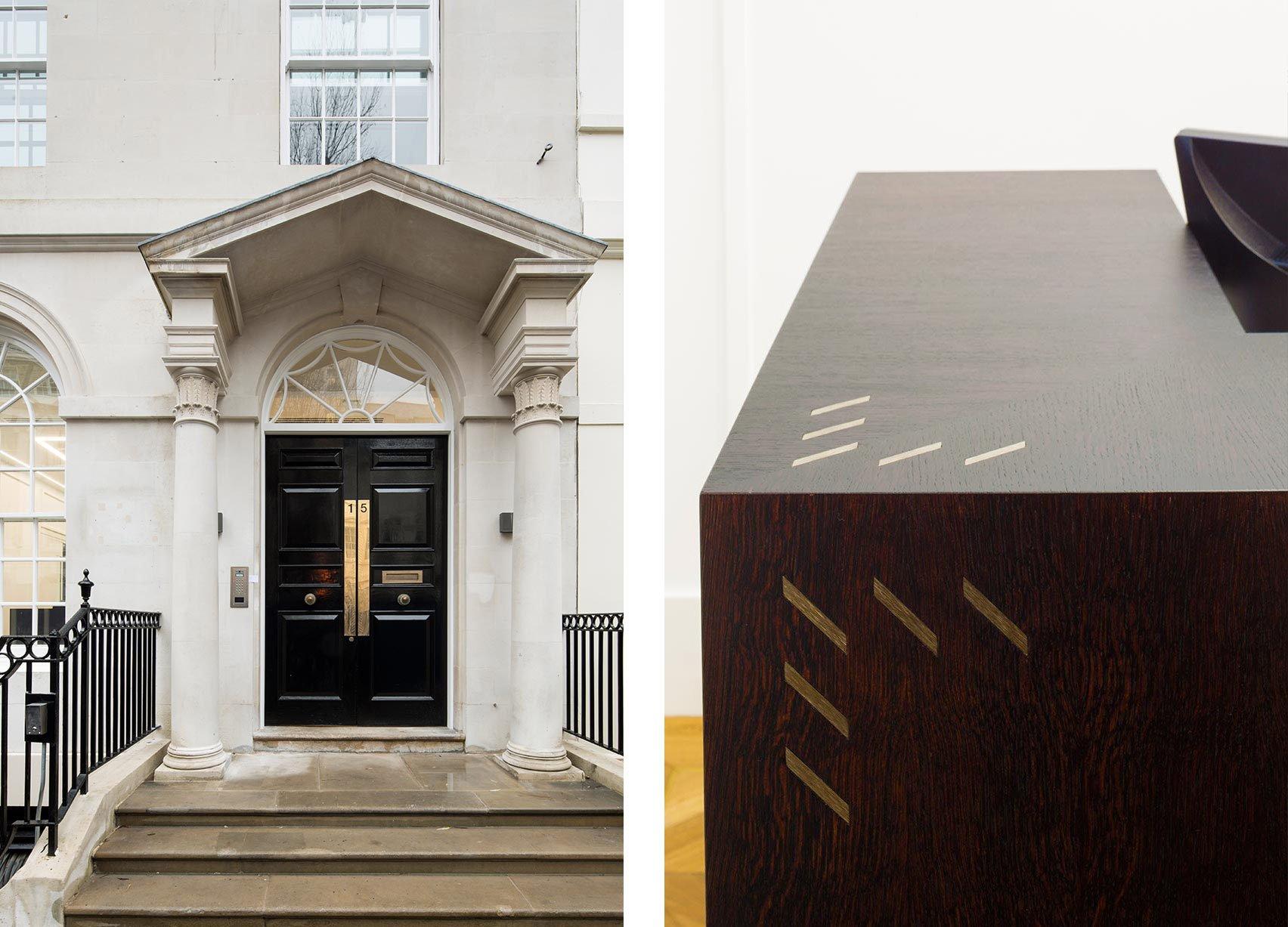 Stratford Place, Mayfair London, Entrance & Reception Detail
