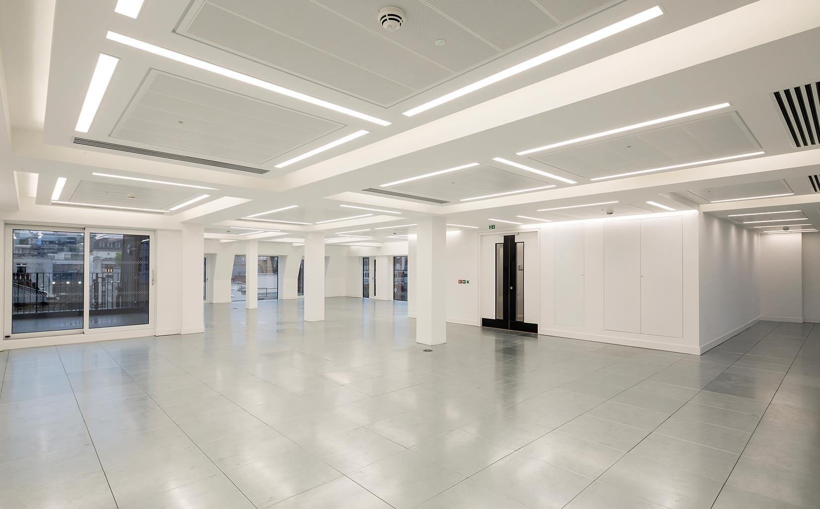 Stratford Place, Mayfair London, Floor Plate