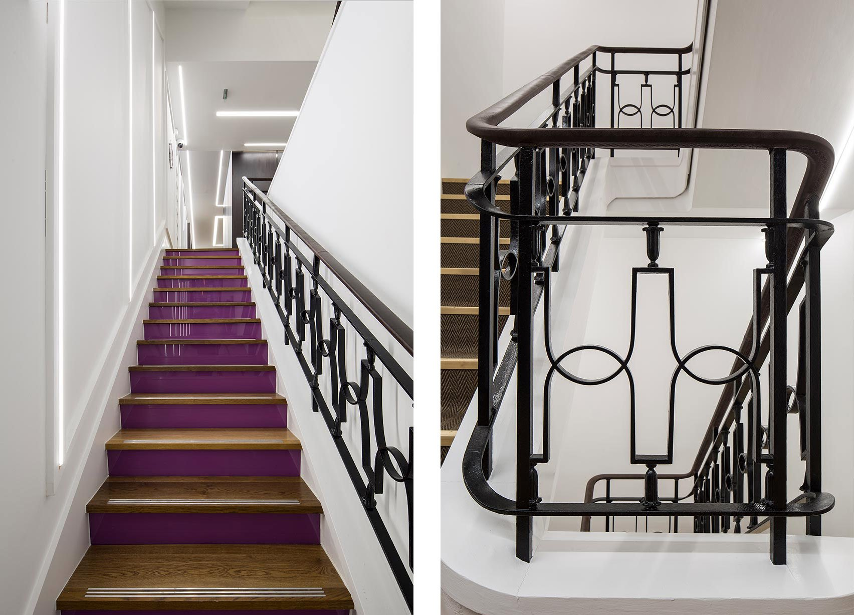 Stratford Place, Mayfair London, Stairs