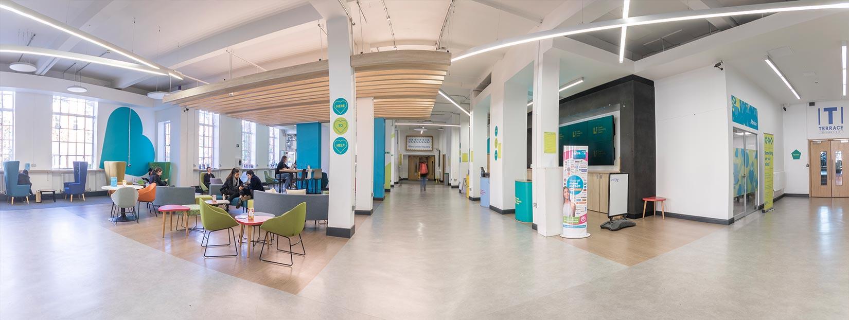University of Leeds Students Union, Main Entrance Foyer