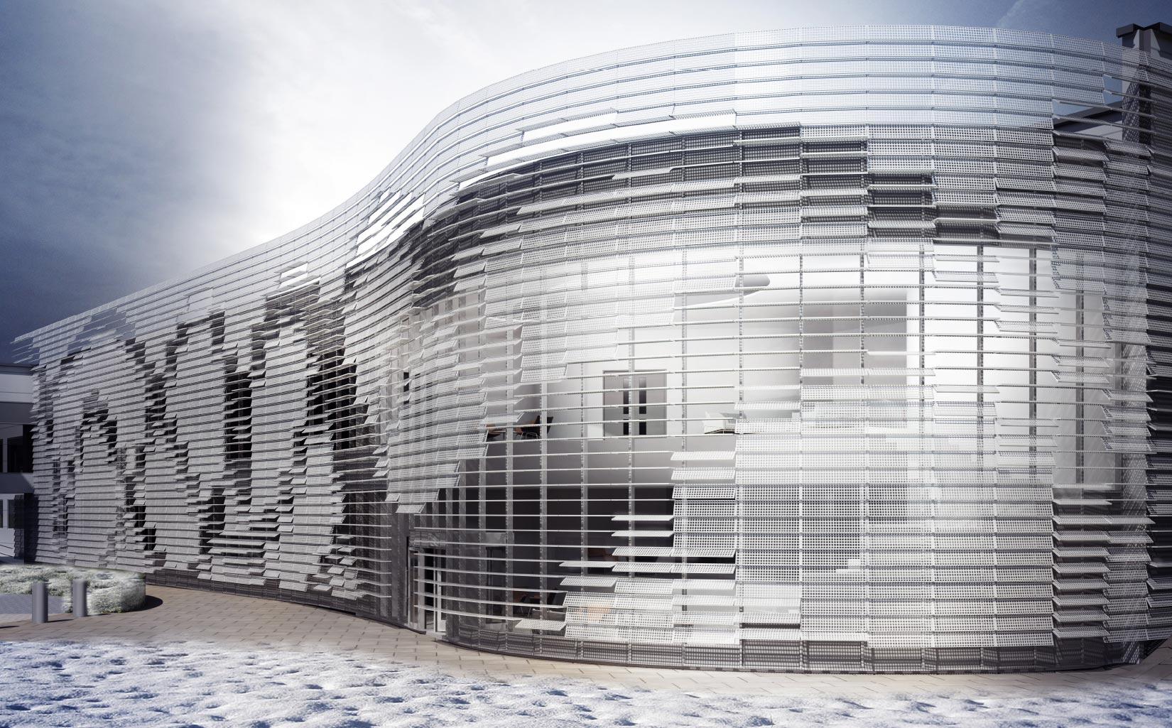 Unilever Advanced Manufacturing Centre, Proposed design concept