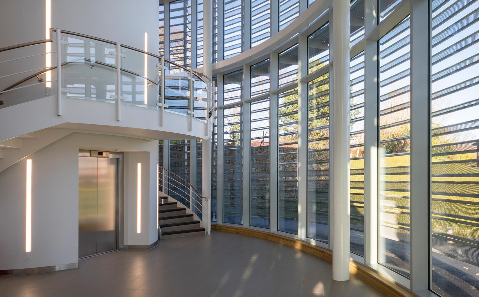 Unilever Advanced Manufacturing Centre, Reception Area