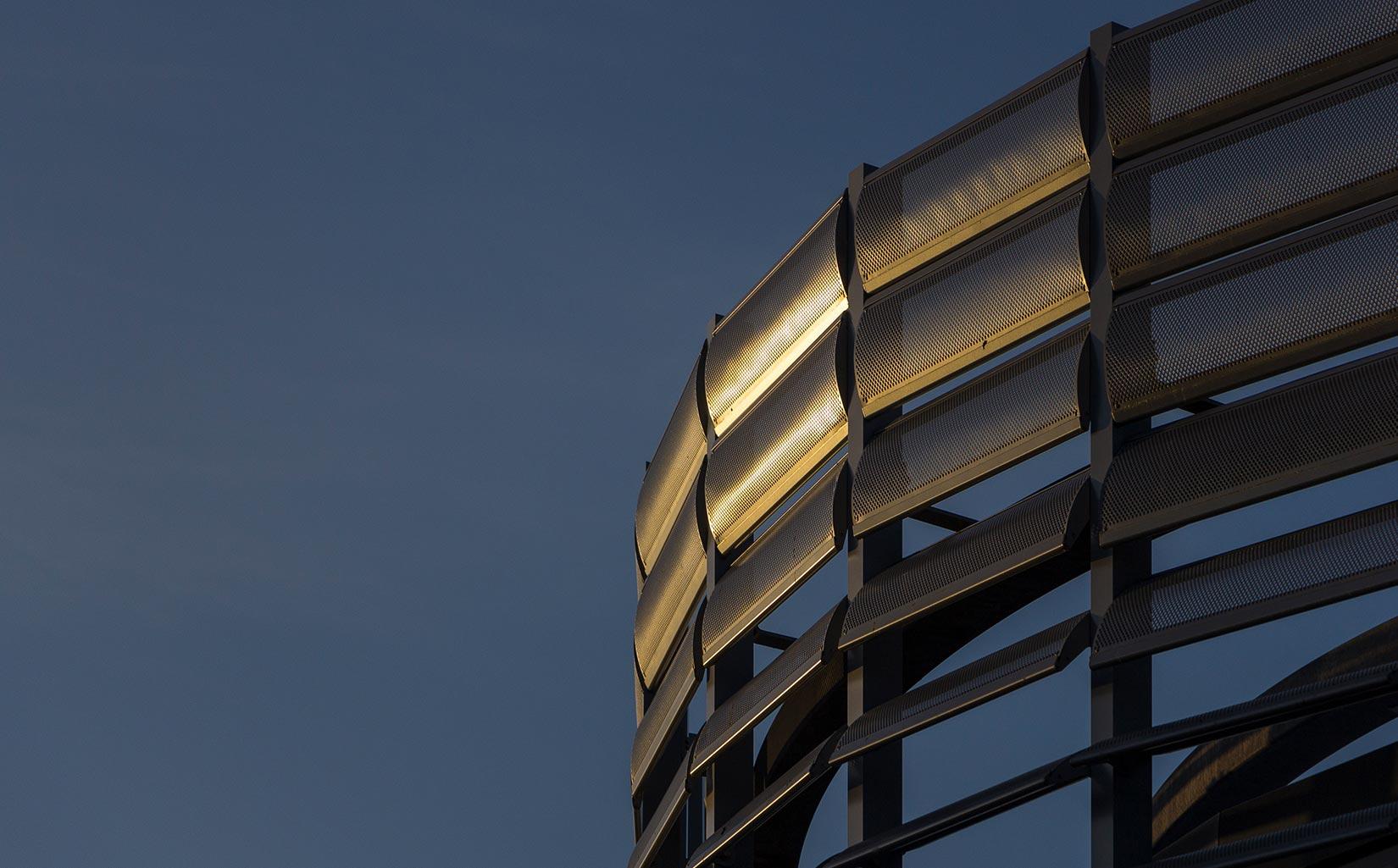 Unilever Advanced Manufacturing Centre, Façade Detail