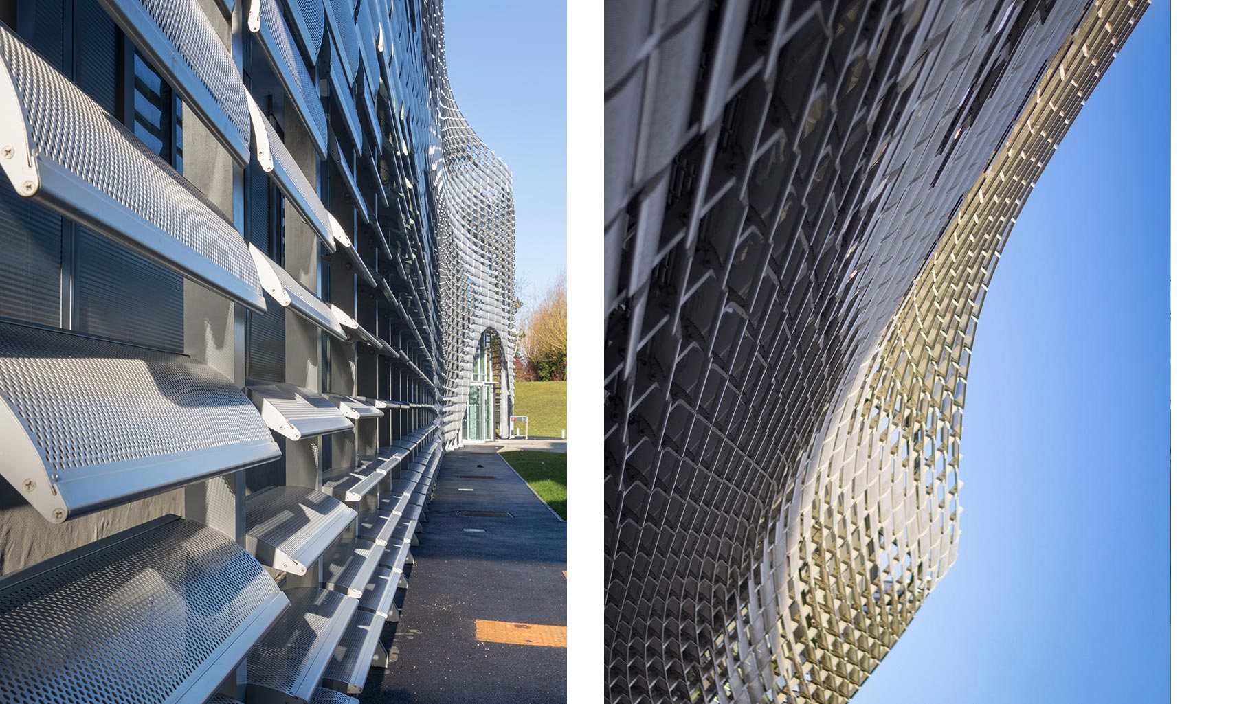 Unilever Advanced Manufacturing Centre,Façade