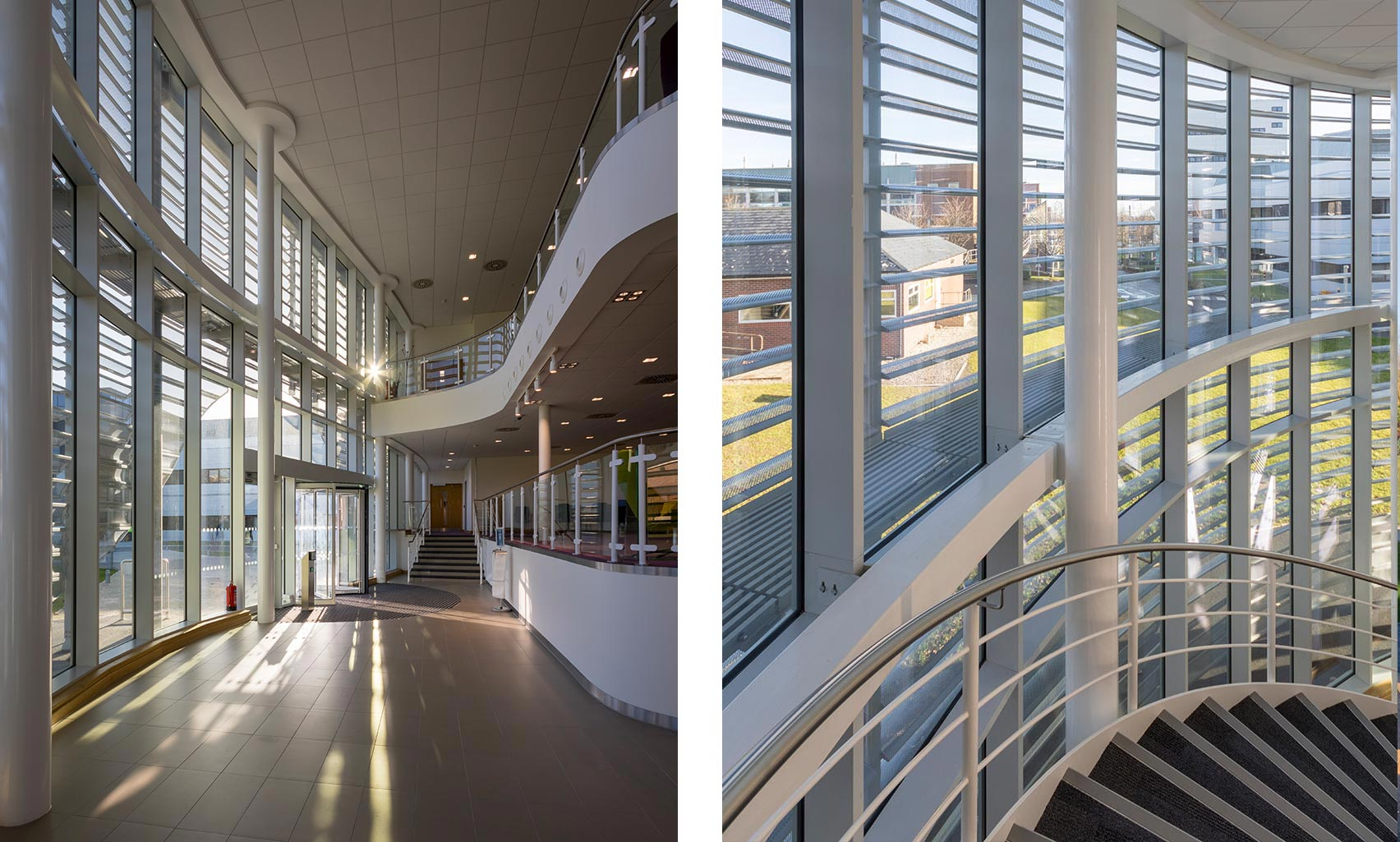 Unilever Advanced Manufacturing Centre, Reception & Stair