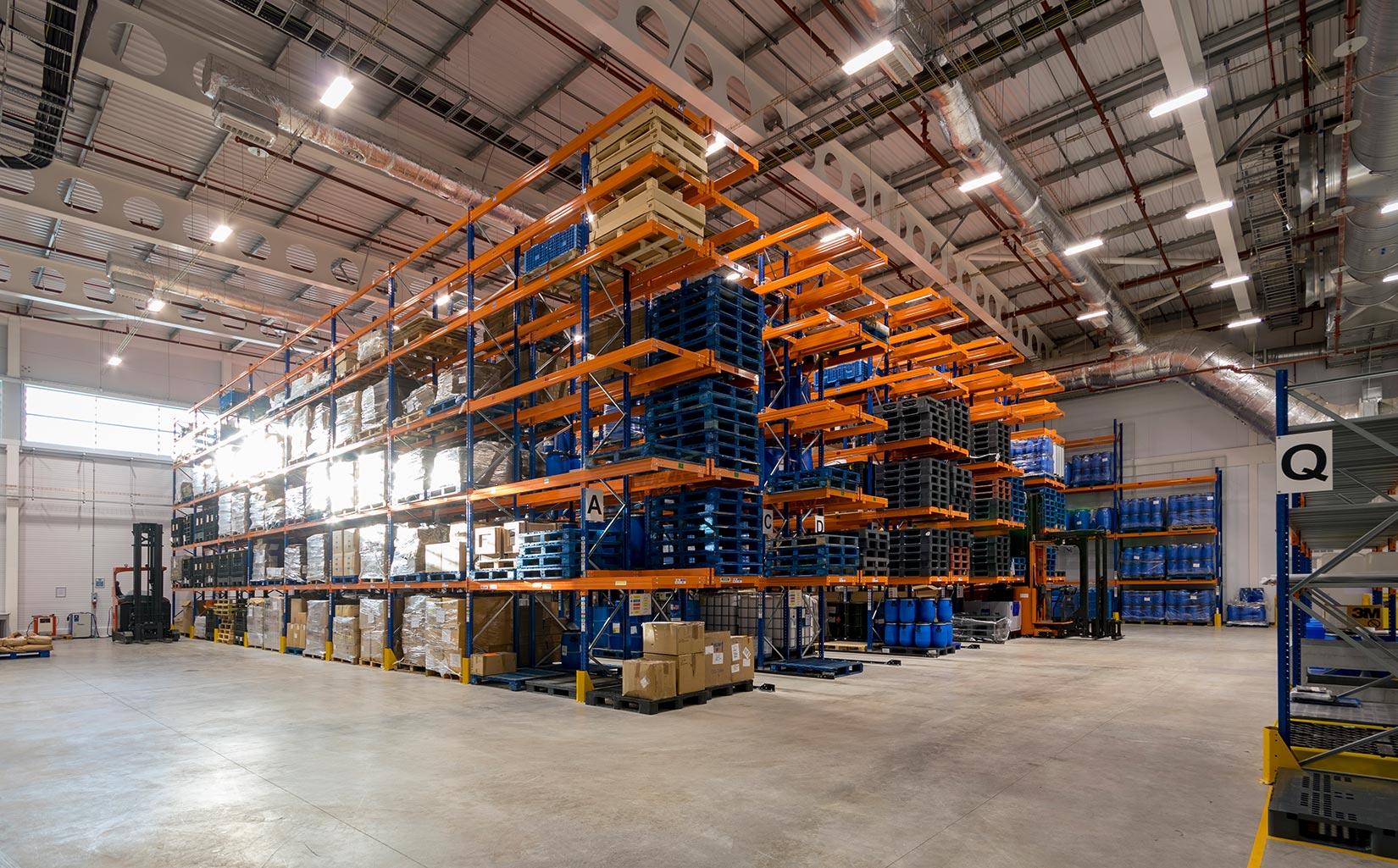 Unilever Advanced Manufacturing Centre, Warehouse