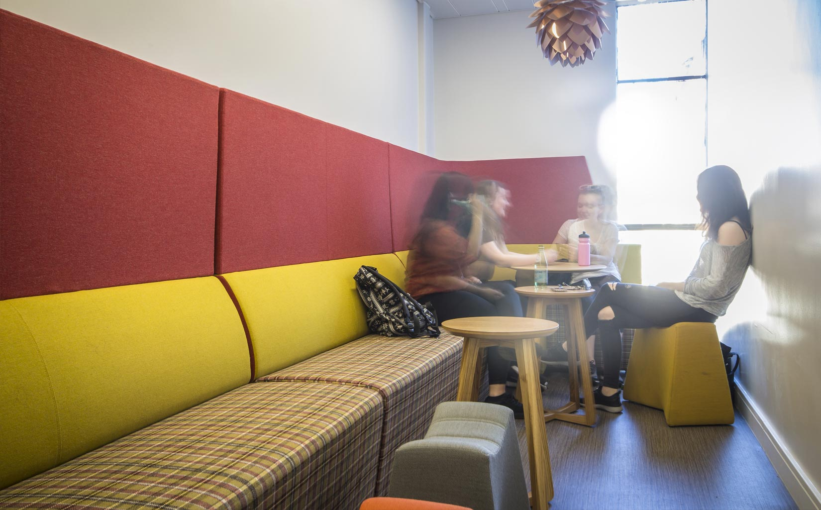 Worsley Building, University of Leeds, Social Space