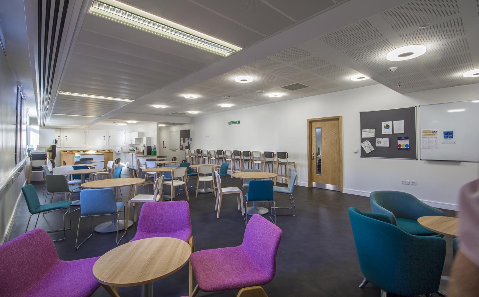 Worsley Building, University of Leeds, Teaching Space