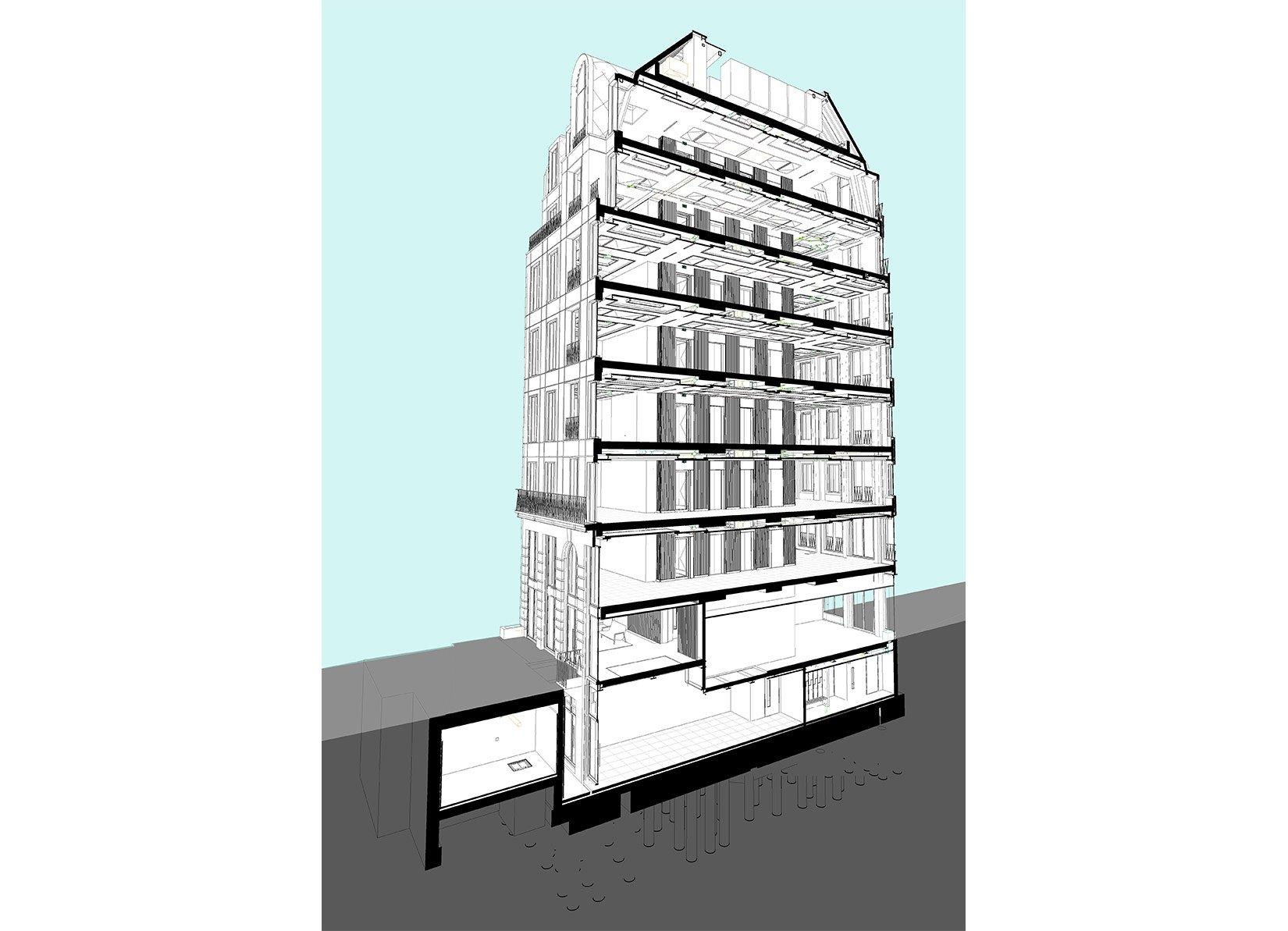 26 St James's Square, London, 3D Section