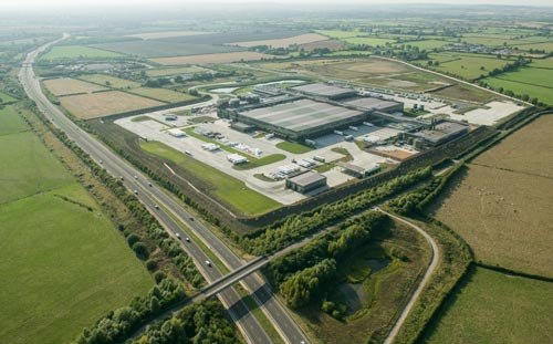 Arla Foods Dairy, Aylesbury, Aerial