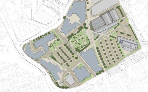 Blackburn College, Masterplan