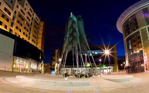 Brewery Wharf, Leeds, 'Steeped Vessels' Sculpture