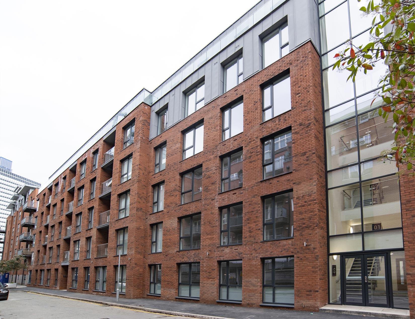 Halo, Simpson Street, Manchester, Façade