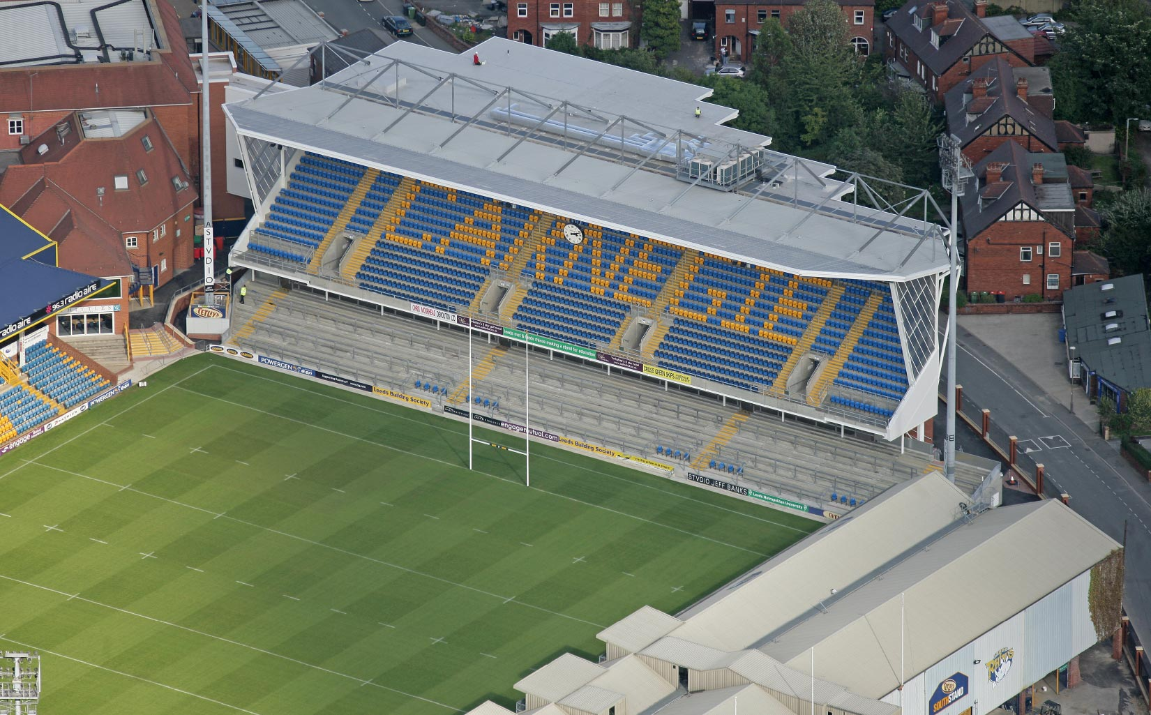 Headingley East Stand, Aerial